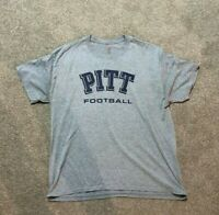 PITTSBURGH PANTHERS FOOTBALL GAME WORN USED PLAYER ISSUED SIDELINE PITT SHIRT