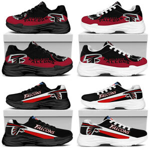 Atlanta Falcons Breathable Sports Shoes Hiker Gym Lightweight Jogging Sneakers