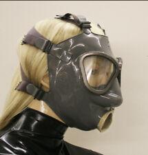 <>Latexvertrieb<> Latex Latexmaske Gasmaske - NATURE CONDOME