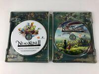 Ni No Kuni 2 II Revenant Kingdom Steelbook  w/ Music CD & Making of Blu-ray