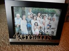 """NEW GANZ WOODSTOCK  4 GENERATIONS STANDING PICTURE FRAME 3 1/2"""" X 5 1/2"""""""