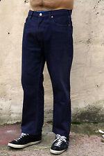 LEVIS 501 vintage pour homme délavé jeans bleu marine Denim RED TAB Coupe Droite Rouge W34 L26