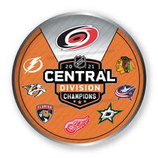 2021 STANLEY Tasse Playoffs Broche Hurricanes Central Division Champs W/