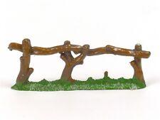 Hornung Miniatures Trees Log Fence 65M Bob Hornung Art Metal Cast Scenery