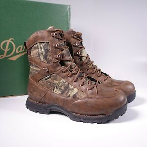 """Size 12 Men's Danner Pronghorn 8"""" 800G Gore-Tex Hunting Boots 45013 Mossy Oak"""