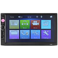 "Universal 7010B 7"" Car MP5 Player Bluetooth FM Radio Remote USB TF Touch Screen"