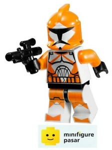 sw299 Lego Star Wars 7913 -  Bomb Squad Trooper Minifigure with Blaster - New