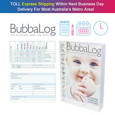 BubbaLog Baby Track & Manage Note Baby Daily Log Note Baby Journal Memory Journa