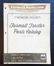 International Harvester Farmall After Market Tractor Parts Catalog 1926-1985