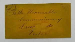 1863 Free Napanee Ontario to Commissioner of Crown Lands Quebec