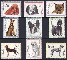 Poland Scott 1115-23 Dogs, Polen NH 1962