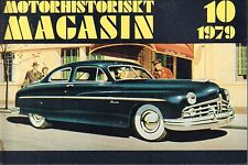 Motorhistoriskt Magasin Swedish Car Magazine 10 1979 Ford 032717nonDBE