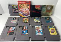 Original Nintendo NES Game Lot + Double Dragon CIB Zelda Ninja Gaiden TMNT Etc.