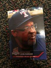 LEON DURHAM TOLEDO MUD HENS 2014 TEAM SET CARD