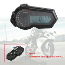 1PCS ABS plastic Motorcycle Digital Gauge Fuel / Tacho /Odo Meter Kmh Indicator