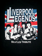 Mens Womens-Liverpool Legends Beatles Tribute Band-Concert Club T Shirt-L