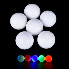 Dupont Surlyn LED Flashing Light Up Golf Balls for Sports Night Golfing Tracer