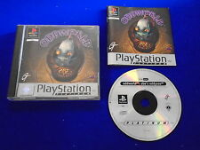 ps1 ODDWORLD Abe's Oddysee PLAT Game Boxed COMPLETE Playstation 1 PAL ps2 ps3