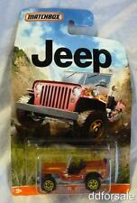 1943 Jeep Willys 1:64 Scale From The Jeep Series by Matchbox