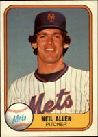 1981 Fleer Baseball Base Singles #322-621 (Pick Your Cards)