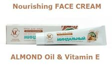 Natural Nourishing Face Cream With Almond Oil & Vitamin E 40ml - All Skin Types