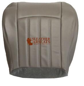 2005-2010 Chrysler 200 300 Passenger Side Bottom Leather Seat Cover Gray