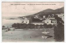 La Place du Diament & la Pointe du Cacalo Ajaccio Corse Corsica France postcard