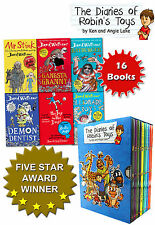 David Walliams and Robins Toys 16 Books Collection Set