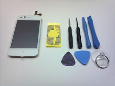 REPLACEMENT WHITE OEM iPHONE 3GS LCD GLASS DIGITIZER TOUCH SCREEN FULL ASSEMBLY