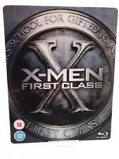 X-MEN First Class Blu-Ray + DVD Steelbook