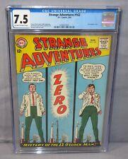 STRANGE ADVENTURES #162 (Star Hawkins story) CGC 7.5 VF- DC Comics 1964