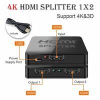 HDMI Splitter 1080p 4K HDCP Stripper 3D Power Signal Amplifier HDTV DVD PS3 Xbox