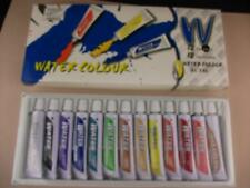 Set of Artist Watercolour paints 12 colours,12ml size tubes, ideal for beginners