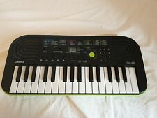 CASIO SA-46 ELECTRONIC KEYBOARD WORKING PERFECTLY AND IN GREAT HARDLY USED COND.