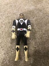 Auto Morphin Black Ranger Vintage Power Rangers Action Figure 1993 Bandai Zach