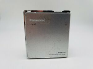 MD1974 working  Panasonic PORTABLE MD PLAYER SJ-MJ97  Silver