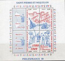 Timbres de St Pierre & Miquelon Bloc feuillet N° 3  neufs **