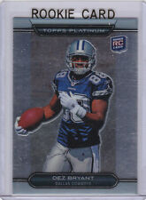 DEZ BRYANT ROOKIE CARD Topps Platinum 2010 NFL RC Dallas Cowboys Football