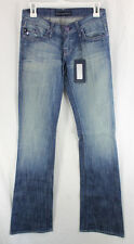 Rock Republic Jeans Kurt Denim Womens Size 0, 25 Boot Cut Low Rise Sample 2009