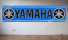 Yamaha Flag Banner 2X8Ft ATV ATC Motorcycle Racing Banner Flag Garage Wall Decor