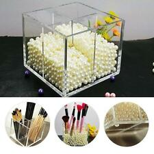 Acrylic Make up Storage Empty Holder Cosmetic Case Box For Makeup Brush Pen AFF