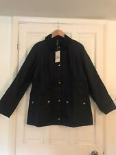 Barbour Ladies' Monteviot Waxed Jacket Size UK8 (slim fit) - Navy