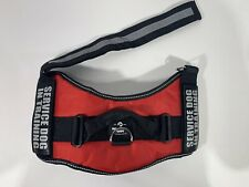 Industrial Puppy Service Dog in Training Vest with Reflective Strap (XL)