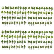 160pcs Model Trees Train Street Railway Layout Diorama Wargame 1:250 Scale