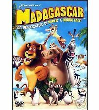 DVD DISNEY DREAMWORKS - Madagascar (1 dvd) originale