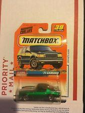 Matchbox  camaro 71 VINTAGE