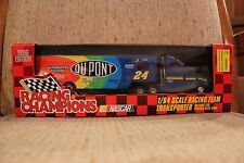 Racing Champions 1996 Jeff Gordon #24 Dupont Racing 1/64 team transporter