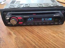 SONY CDX-GT414U  RADIO CD PLAYER USB  AUX