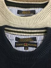 Tommy Hilfiger Mens Crewneck Pullover Sweaters Lot Of Two Size X Large