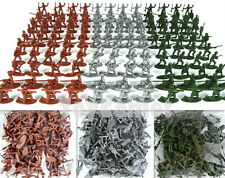 150 pcs Military Plastic Toy Soldiers Army Men 1:72 Figures in 12 Poses